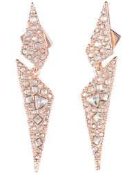 Alexis Bittar - Crystal Encrusted Dangling Origami Post Earring You Might Also Like - Lyst
