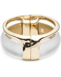 Alexis Bittar | Gold Stacked Hinged Bracelet You Might Also Like | Lyst