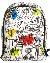 Alice + Olivia - Staceface Graffiti Print Backpack - Lyst