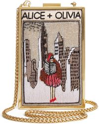 Alice + Olivia - Sophia New York Clutch - Lyst