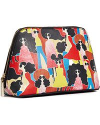 Alice + Olivia - Nikki Stacey Montage Cosmetic Case - Lyst