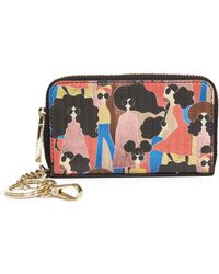 Alice + Olivia - Avril Stacey Montage Small Wallet - Lyst