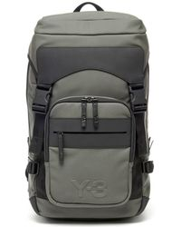 11a78c85c0 Lyst - Y-3 Ultratech Backpack in White for Men