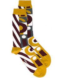 Henrik Vibskov - Openminded Socks Yellow Top - Lyst