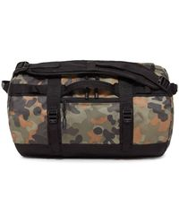 The North Face - Base Camp Camouflage-print Coated-canvas Holdall - Lyst