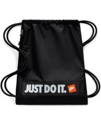 Nike - Just Do It Drawstring Backpack - Lyst