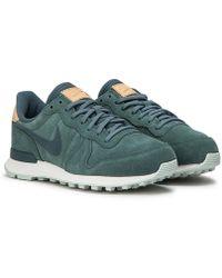 timeless design f8b68 7aa83 Nike - Nike Wmns Internationalist Premium - Lyst