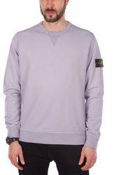 Stone Island - Sweat Shirt Crewneck - Lyst