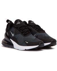 promo code 2129f c94f9 Nike - Nike Air Max 270 Knit Jacquard Gs - Lyst