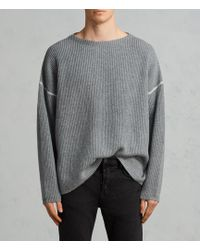 AllSaints - Bind Pullover - Lyst