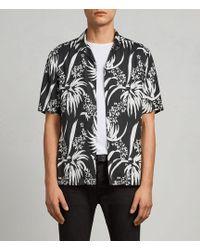 AllSaints - Koloa Hawaiian Shirt - Lyst