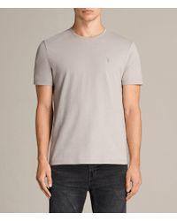 AllSaints - Brace Tonic Crew T-shirt - Lyst