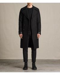 AllSaints - Fenton Coat - Lyst