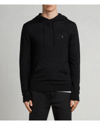 AllSaints - Mode Merino Pullover Hoodie - Lyst