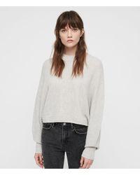 AllSaints - Gene Crew Neck Sweater - Lyst