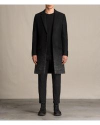 AllSaints - Bodin Coat - Lyst
