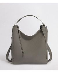 AllSaints - Kita Leather Small Backpack - Lyst