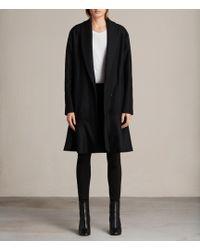 AllSaints - Grace Coat - Lyst