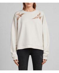 AllSaints - Birds Sweatshirt - Lyst