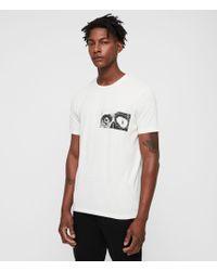 AllSaints - Vision Crew T-shirt - Lyst