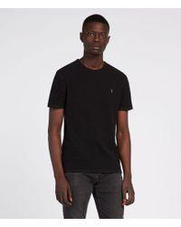 AllSaints - Clash Crew T-shirt - Lyst