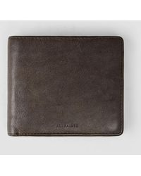 AllSaints - Blyth Leather Wallet - Lyst