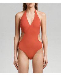 AllSaints - Aurie Swimsuit - Lyst