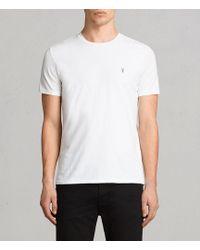 AllSaints - Tonic Crew T-shirt - Lyst