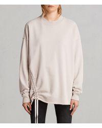 AllSaints - Able Sweatshirt - Lyst