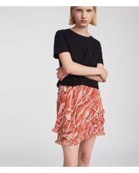 AllSaints - Tulia Kazuno Skirt - Lyst