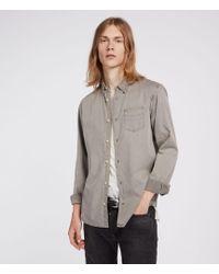 AllSaints - Dilla Shirt - Lyst