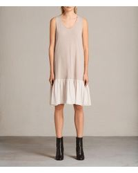 AllSaints - Silvia Dress - Lyst