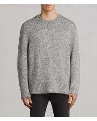AllSaints | Harnden Crew Sweater | Lyst