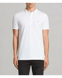 AllSaints | Reform Polo Shirt | Lyst