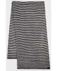 AllSaints - Striped Blanket Scarf - Lyst