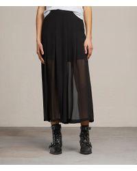 AllSaints - Drea Skirt - Lyst