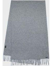 AllSaints - Heavy Wool Blanket Scarf - Lyst