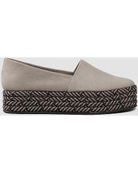 AllSaints - Bora Slip On Shoe - Lyst