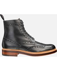 Grenson - Men's Fred Brogue Boots - Lyst