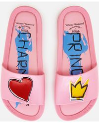 Melissa + Vivienne Westwood Anglomania - Women's Charming Beach Slide Sandals - Lyst