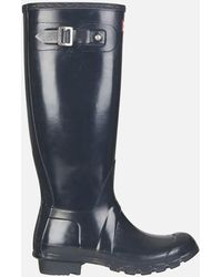 HUNTER - Women's Original Tall Gloss Wellies - Lyst