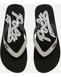 Polo Ralph Lauren - Whittlebury Ii Flip Flops - Lyst