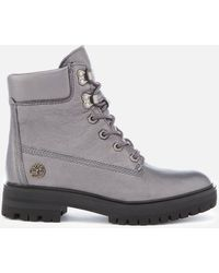 Timberland - Metallic London Square 6 Inch Boots - Lyst