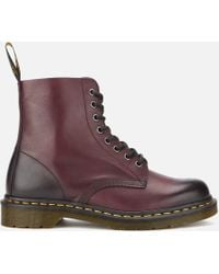 Dr. Martens - Men's Core Pascal Leather 8eye Lace Up Boots - Lyst
