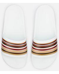 Paul Smith - Rubina Stripe Front Slide Sandals - Lyst
