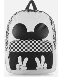 Vans - Checkerboard Mickey Realm Backpack - Lyst