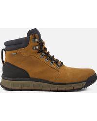 Clarks - Men's Edlund Lo Gtx Nubuck Lace Up Boots - Lyst