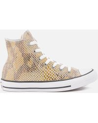 Converse | Women's Chuck Taylor All Star Hi-top Trainers | Lyst