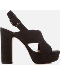 MICHAEL Michael Kors - Mariana Sling Back Platform Sandals - Lyst