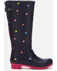 Joules - Welly Print Adjustable Tall Wellies - Lyst